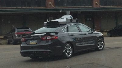 Uber Pittsburgh Self Driving Car Manufacturer